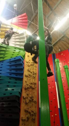 Reaching new heights at Clip n Climb Exeter